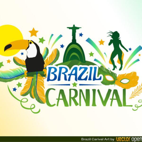 600x600 Free Vector Brazil Carnival Design