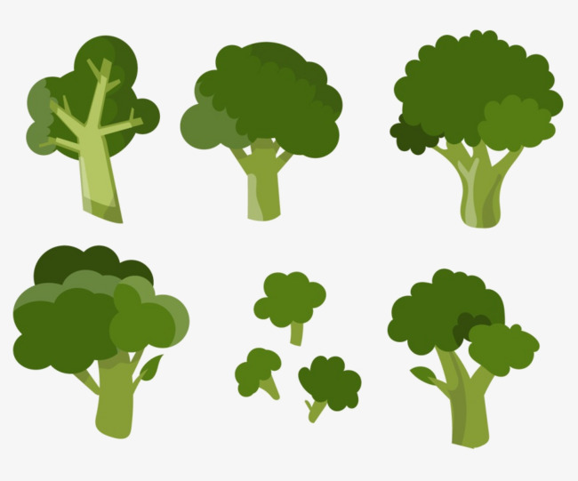 650x541 Vector Broccoli, Vegetables, Hand Painted, Icon Png And Psd File