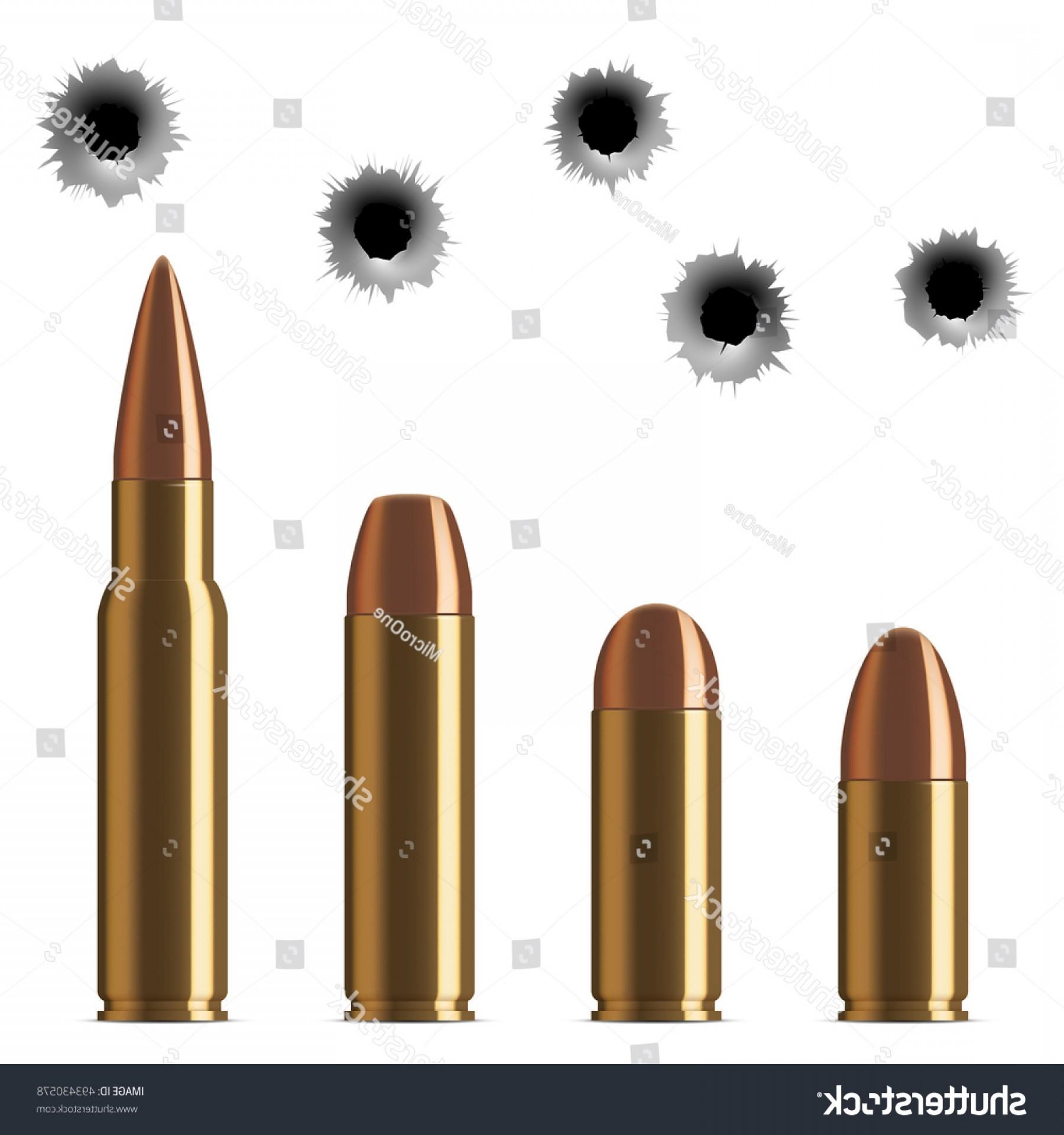 1800x1920 Vector Shot Gun Bullets Bullet Holes Lazttweet