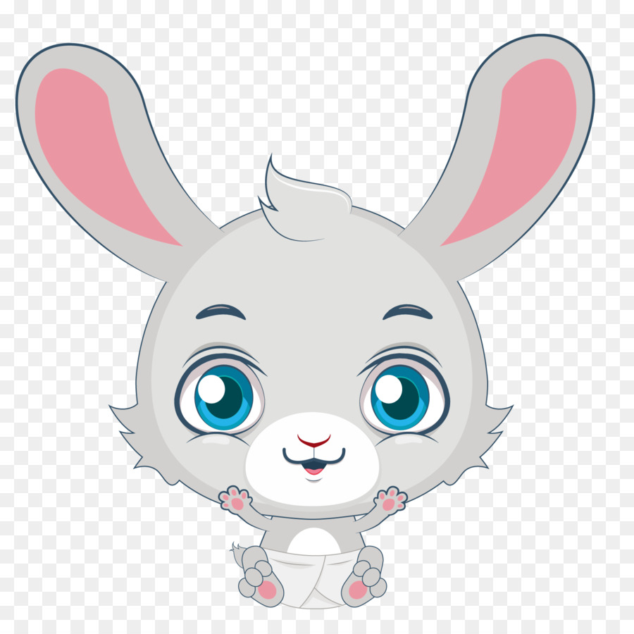 900x900 Domestic Rabbit Easter Bunny Hare Bugs Bunny