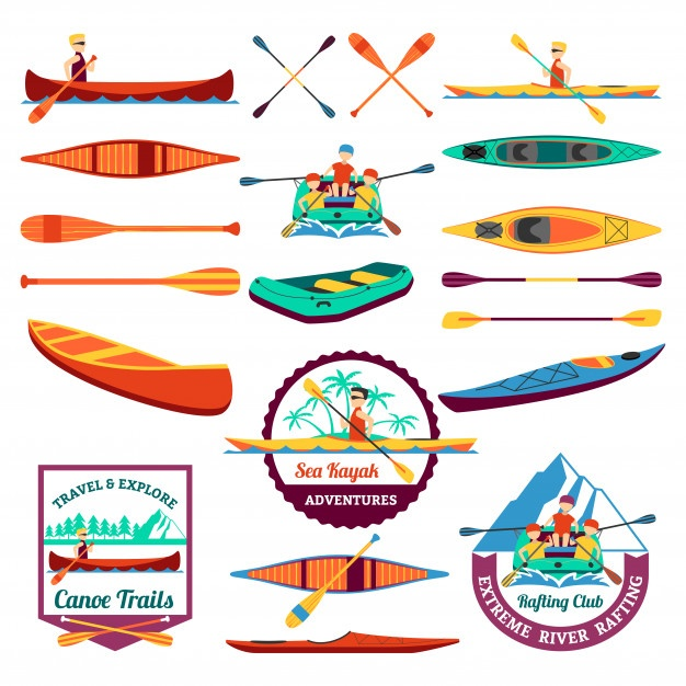 Vector Canoe at GetDrawings com   Free for personal use