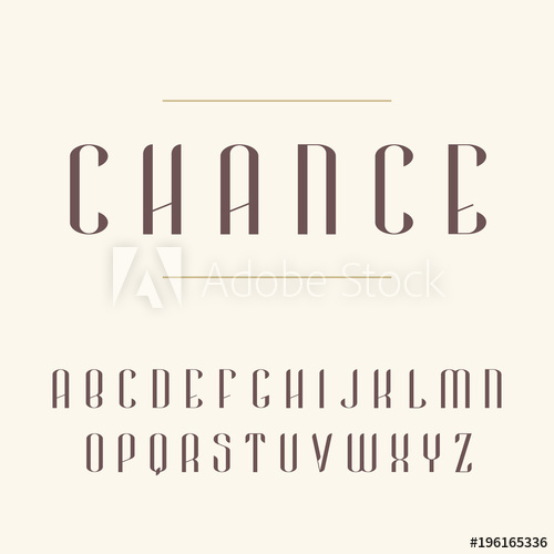 500x500 Elegant Modern Font. Vector Capital Letters Typeface. Contemporary