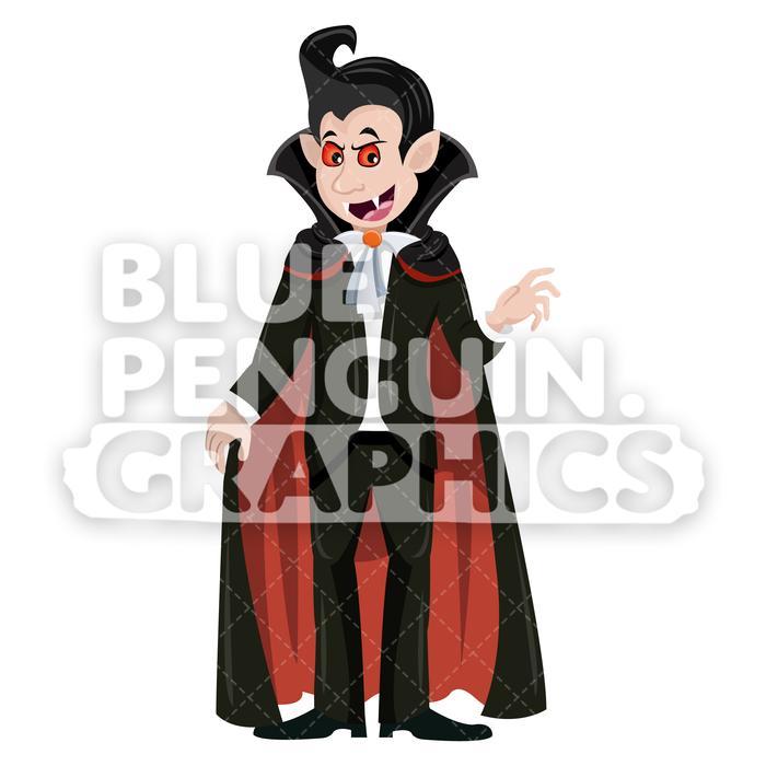 700x700 Scary Halloween Characters Vector Cartoon Clipart Illustration