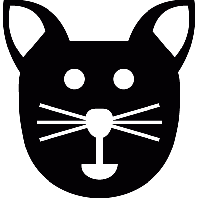 400x400 Cat Head Free Vectors, Logos, Icons And Photos Downloads