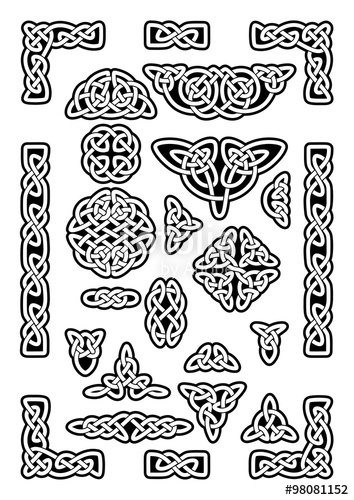 354x500 Celtic Knots Collection Stock Image And Royalty Free Vector Files