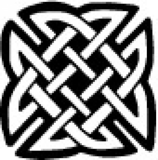 618x626 Celtic Square Knot Vector Free Download