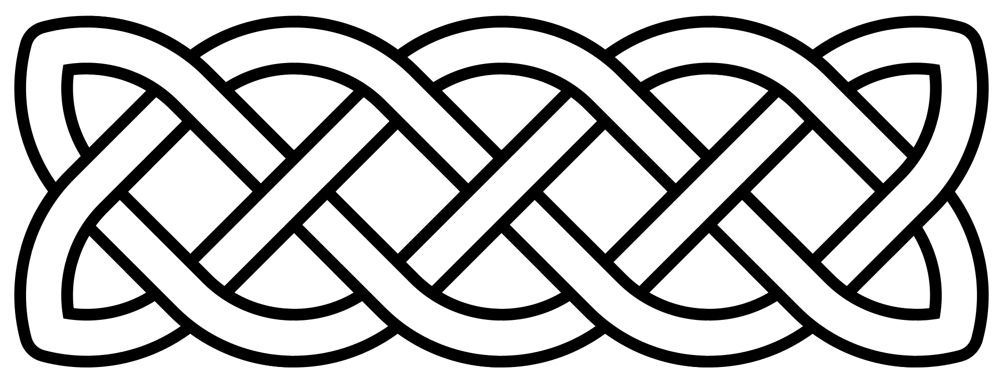 2000x763 Collection Of Free Cross Vector Celtic Knot. Download On Ubisafe
