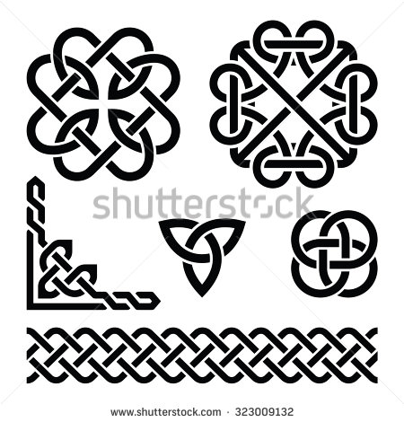 450x470 Celtic Knot Free Vector Celtic Irish Knots Braids And Patterns By