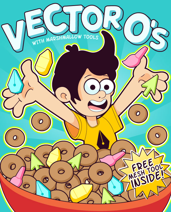 600x744 Design A Vector Themed Cereal Box In Adobe Illustrator