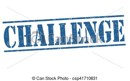 450x282 Challenge Sign Or Stamp. Challenge Grunge Rubber Stamp On White