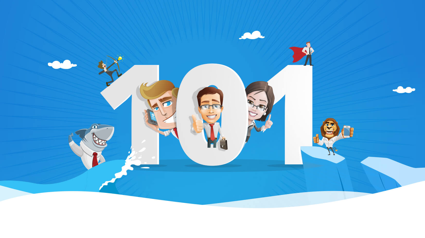 1652x928 101 Free Business Vector Characters From All Over The Web