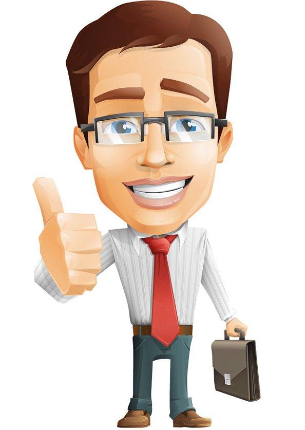 594x837 Free Businessman Vector Character Psd Files, Vectors Amp Graphics