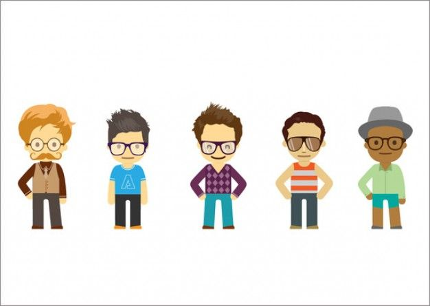 626x445 27 Best Cartoon Characters Images Vector Character