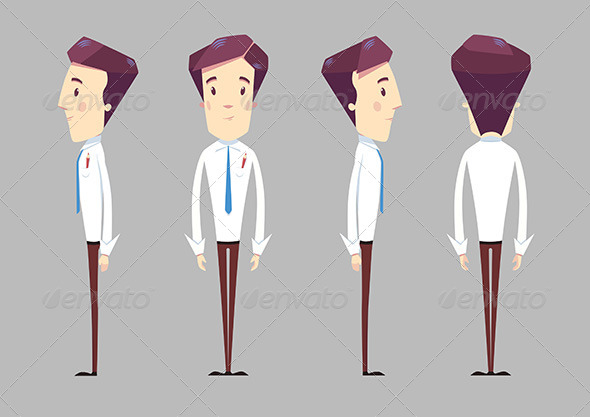 590x417 Employee Character By Tangiad Graphicriver
