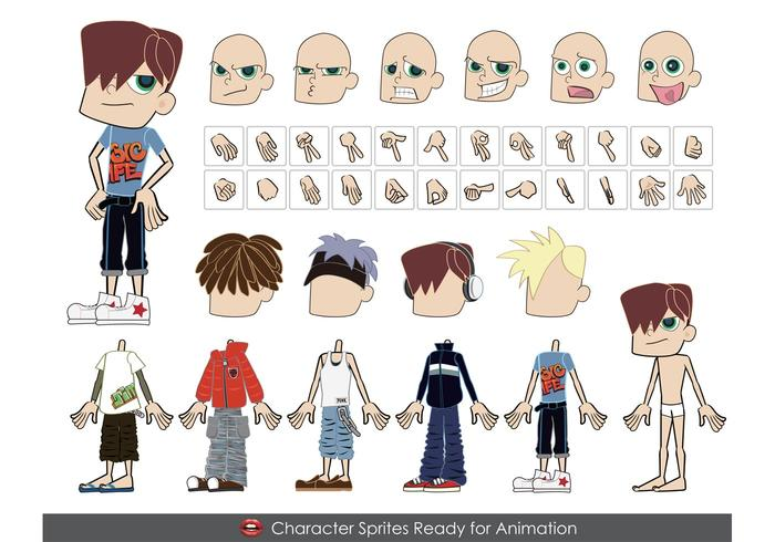 700x490 Free Male Vector Characters