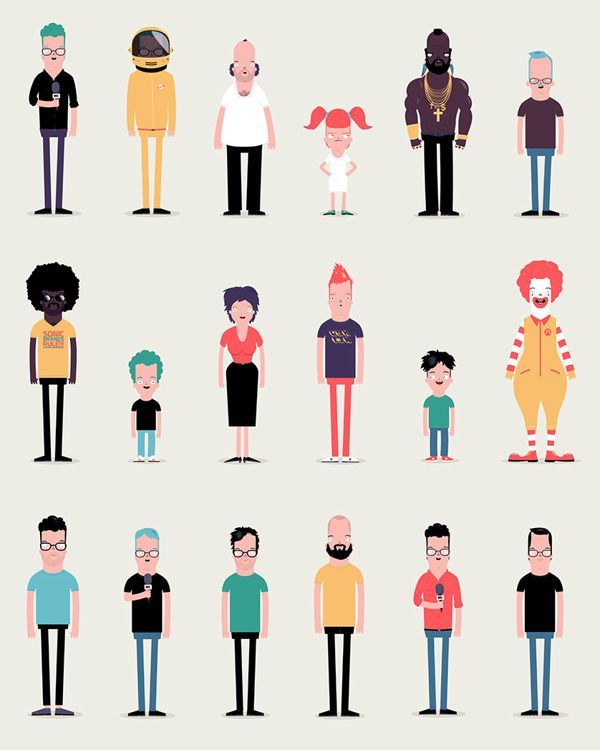 600x750 47 Best Vector Character Design Images Character