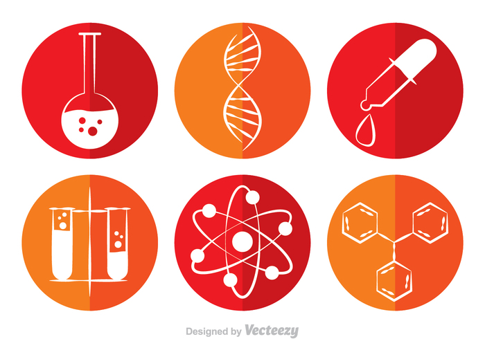 700x490 Chemistry Circle Vector Icons 131443