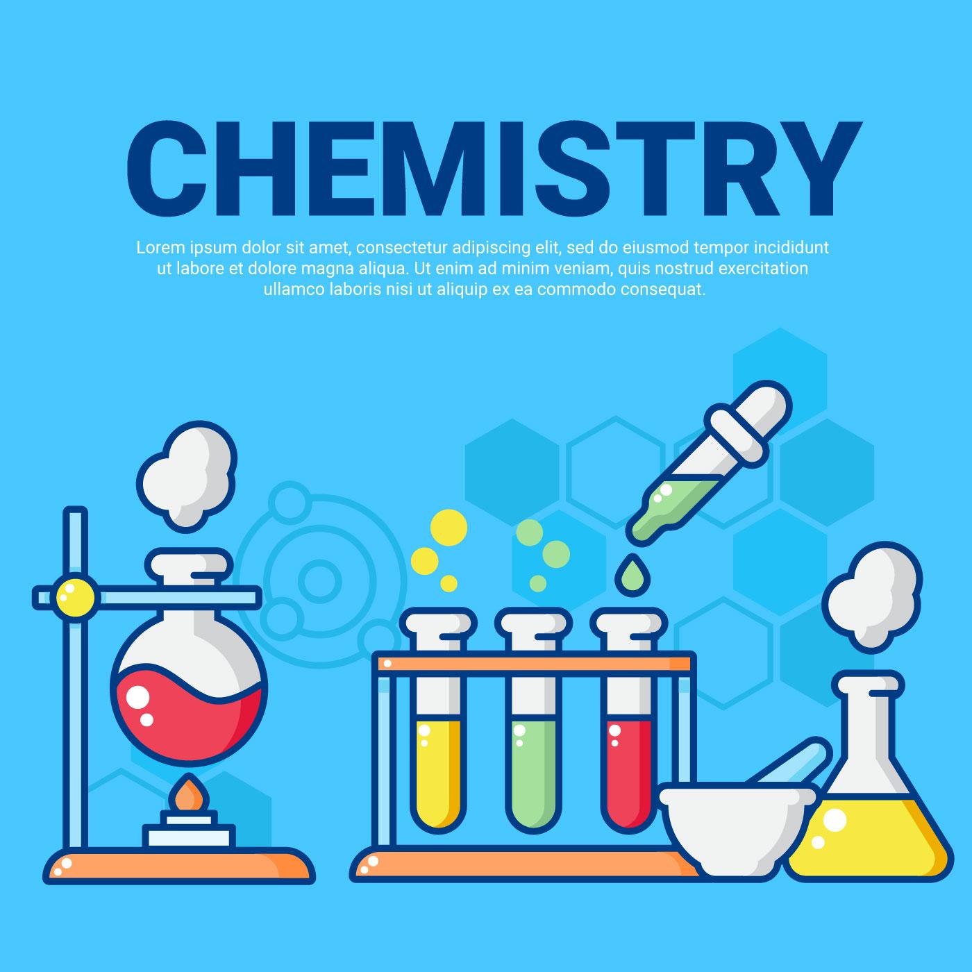 1400x1400 Chemistry Free Vector Art
