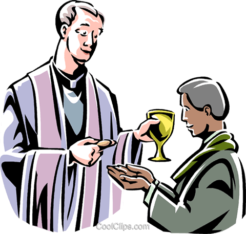 480x457 Christian Masscommunion Royalty Free Vector Clip Art Illustration