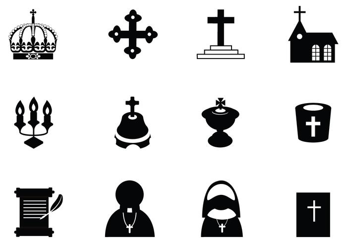 700x490 Christian Vector Icon Pack