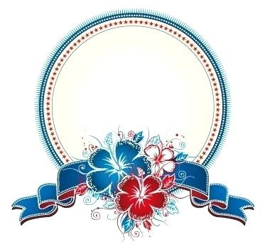 373x351 Circle Design Png This Is An Circle Label Vector For Designs