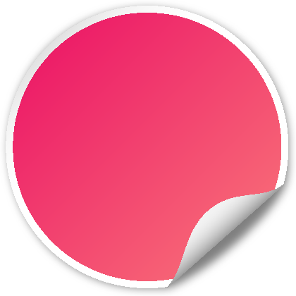 420x420 Circle Seal Pink Svg(Vector)public Domain Icon Park Share