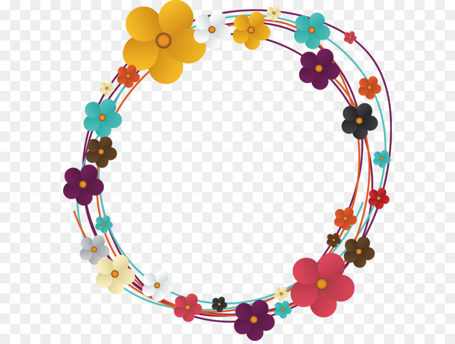 900x680 Flower Euclidean Vector Circle Clip Art