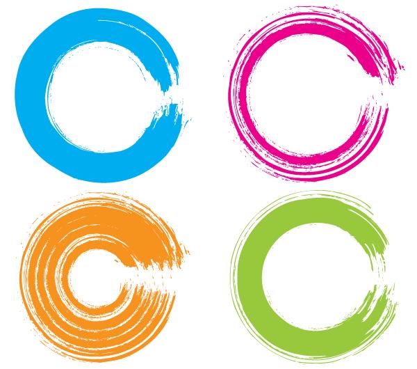 600x530 Free Vector Grunge Circle Illustrator 123freevectors