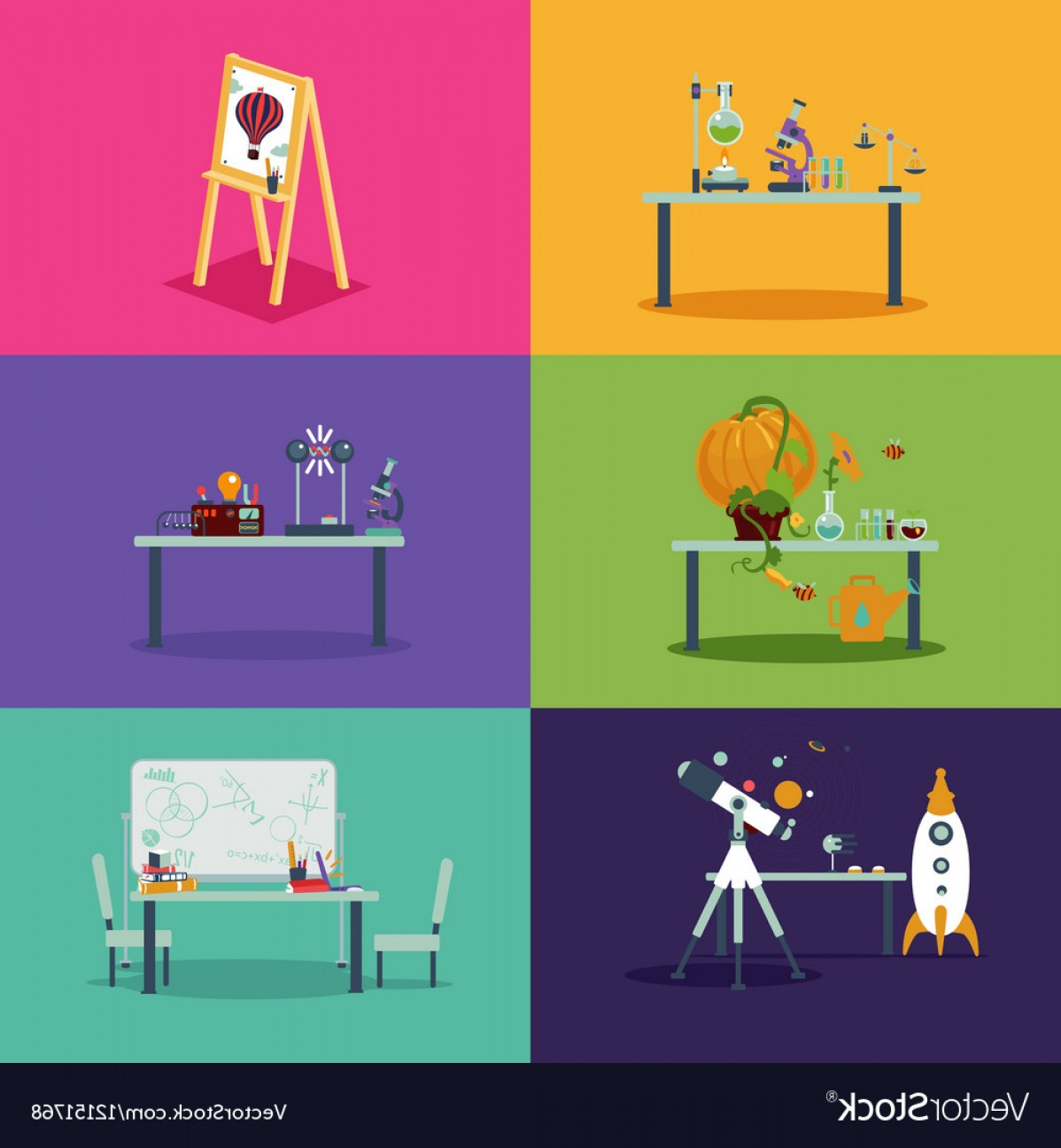 1198x1296 School Class Room Cartoon Backgrounds For Vector Arenawp