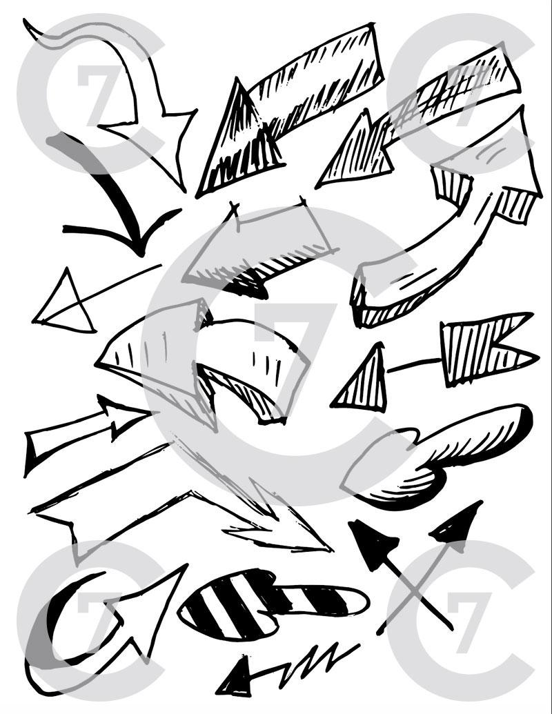 800x1035 Heart Shape Vector Art Pack Set Of 17! Hand Drawn Amp Vectorized.