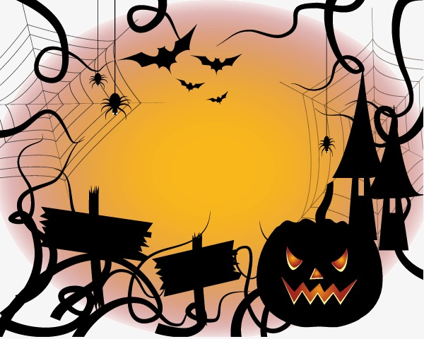 600x480 Halloween,vector, Halloween Vector, Halloween, Vector Clipart Png