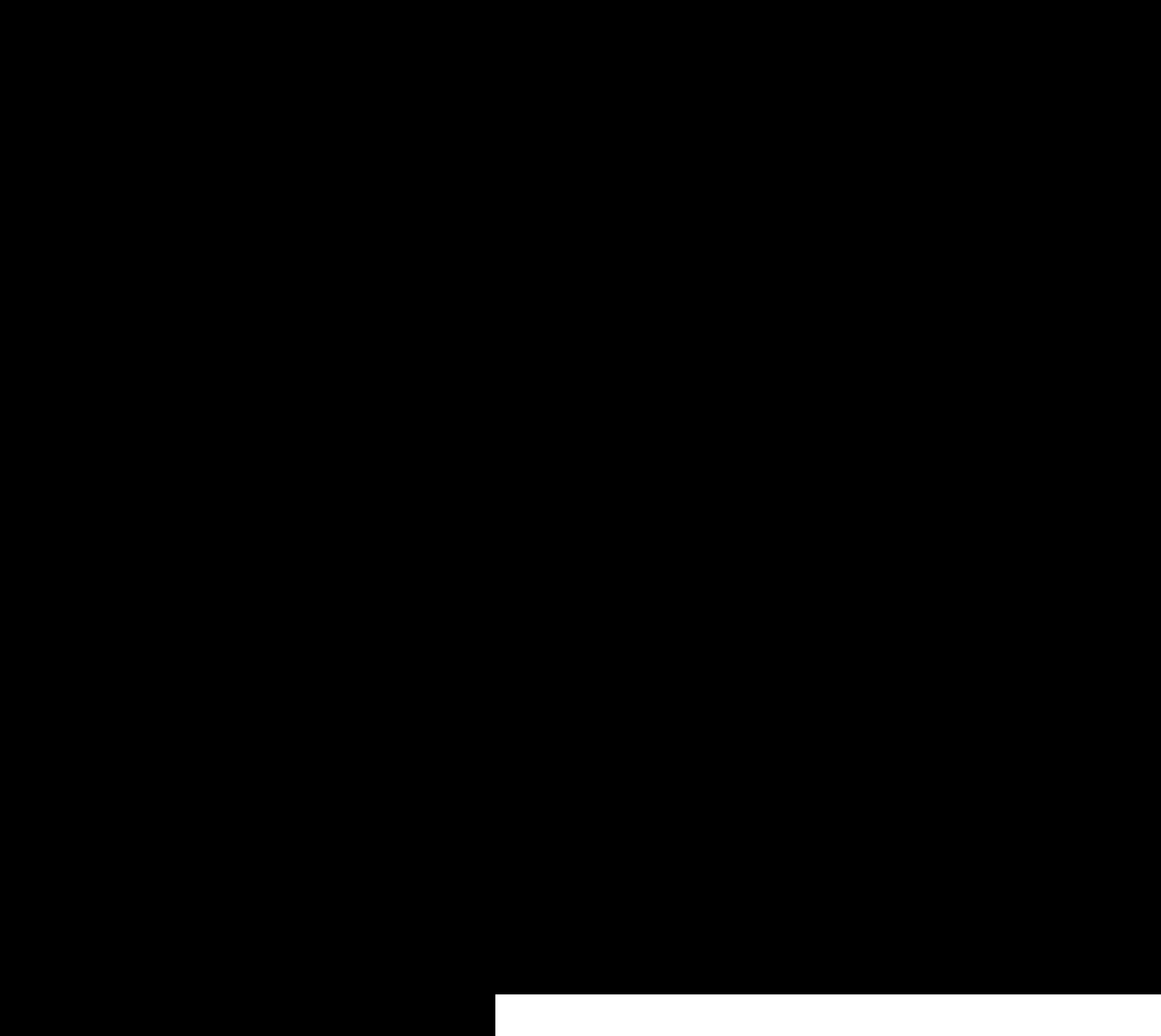 2400x2142 Taurus Bull Symbol Vector Clipart Image