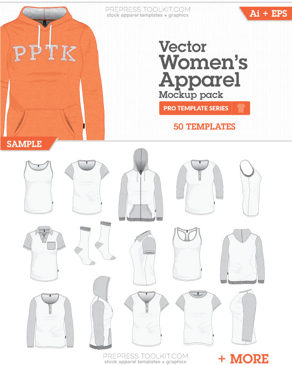 Vector Clothing Templates
