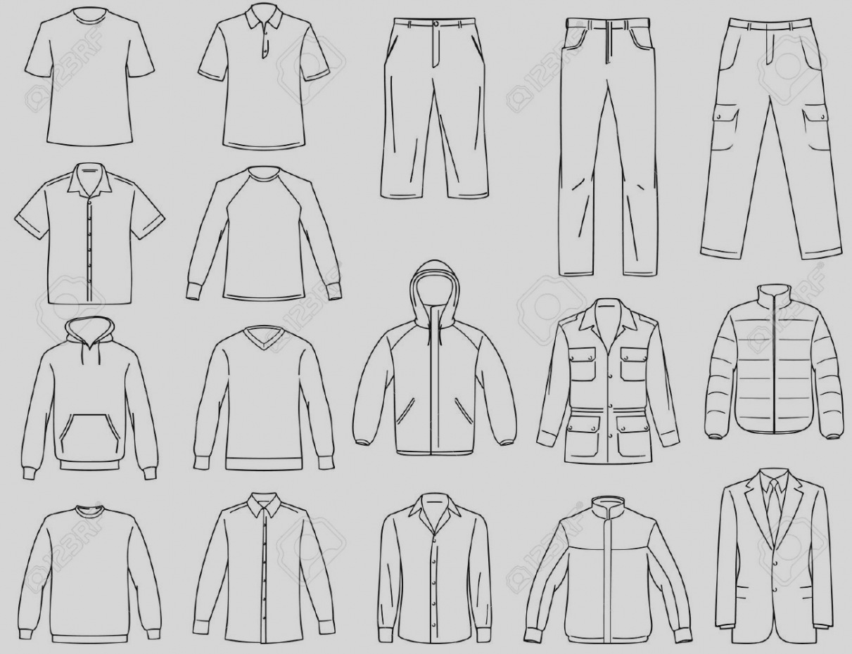 1211x930 Clothing Templates Vector Photo Image Clothing Templates