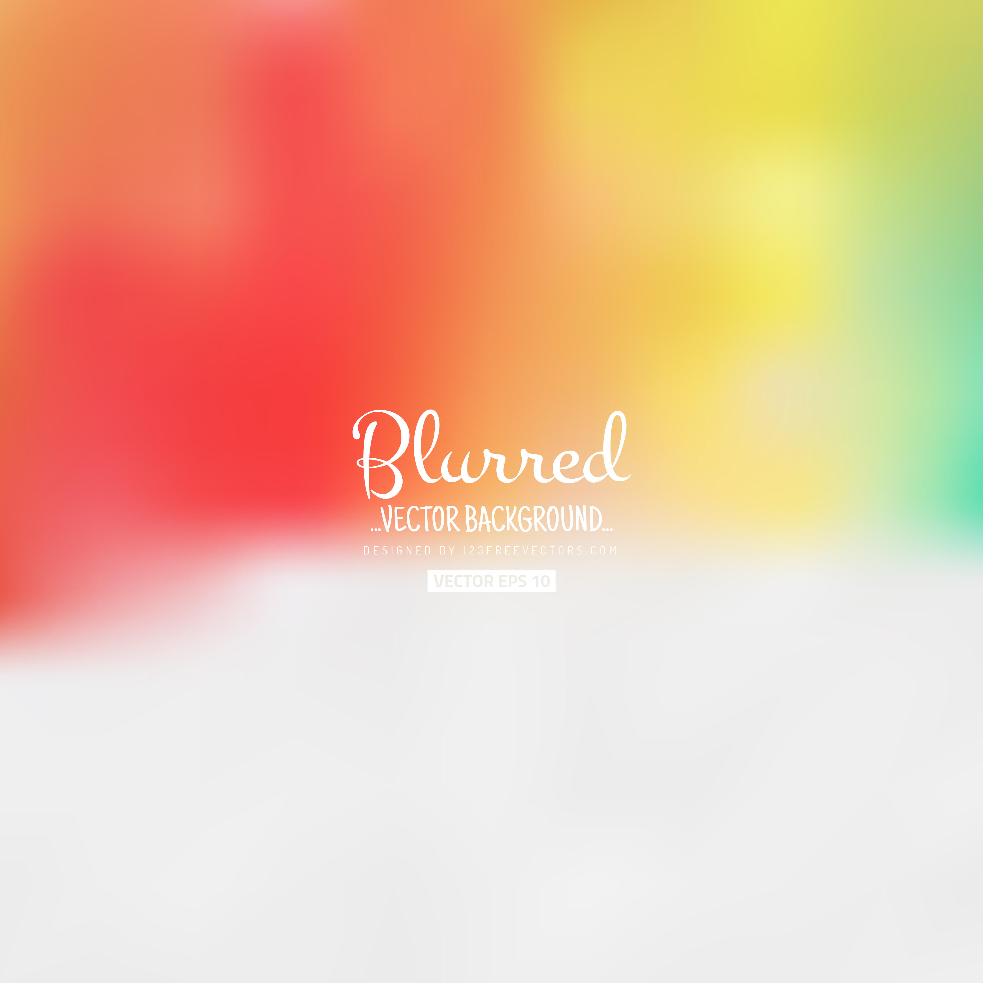 3333x3333 Blurred Light Color Background Vector Free 123freevectors