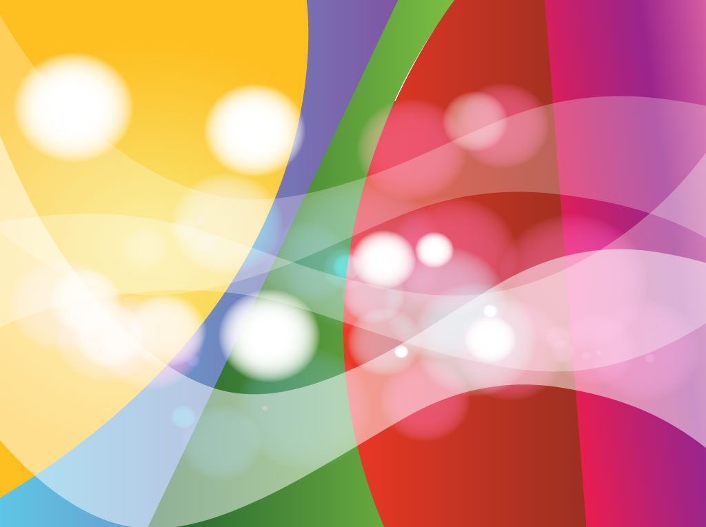 1024x765 Bright Colors Vector Background
