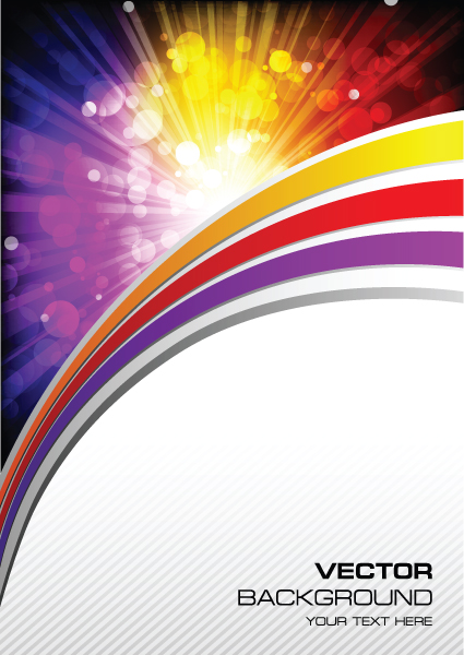 425x600 Vector Set Of Color Insert Background Art 02 Free Download