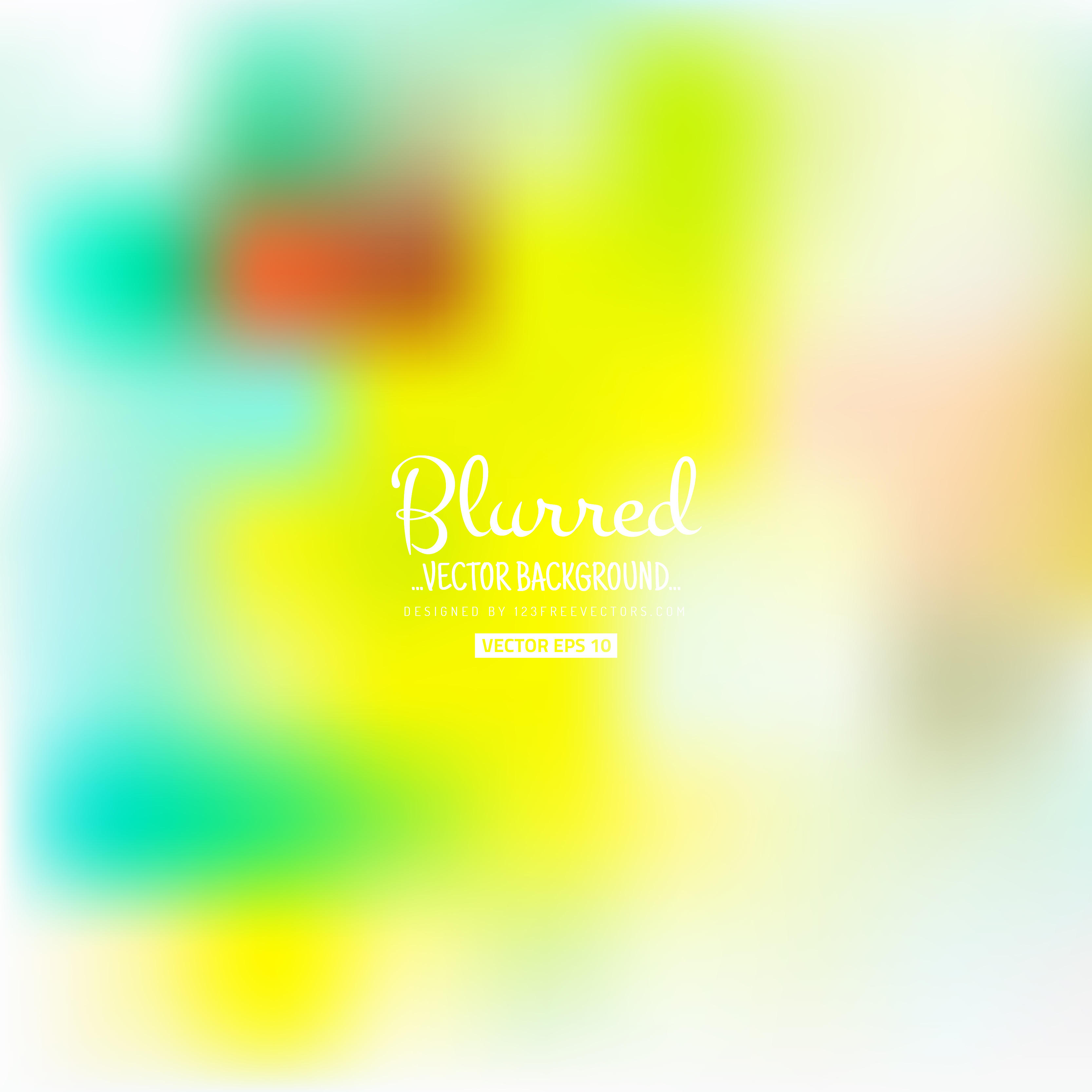3333x3333 Abstract Blurred Light Color Background Vector 123freevectors