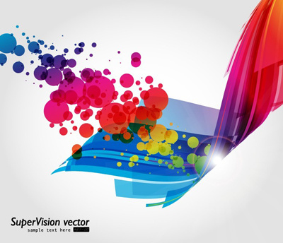 400x344 Abstract Vector Color Background Free Vector Download (58,416 Free