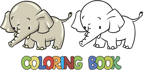 498x245 Vector Cartoon Animal Coloring Pages Free Vector Download (43,348