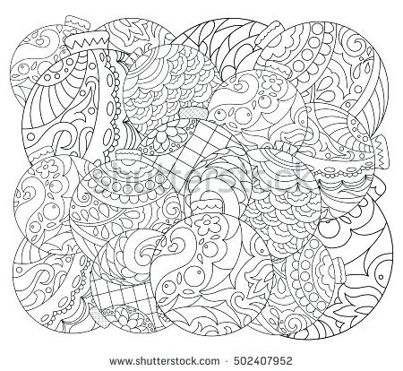 450x414 Christmas Mandala Coloring Pages Coloring Pages Home