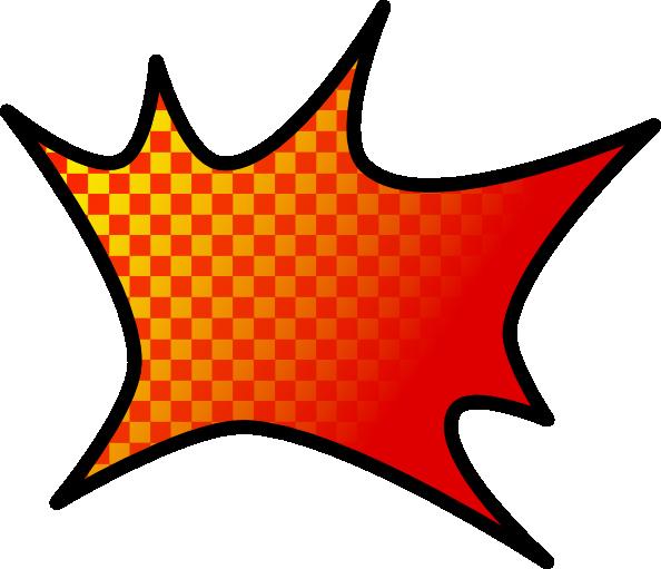594x511 Explosion Clip Art Free Vector 4vector
