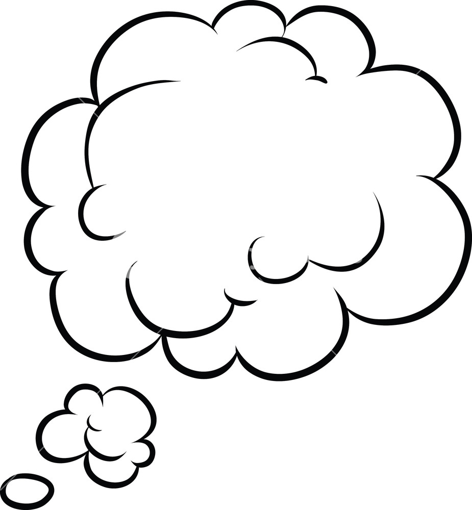925x1000 Comic Bubble Vector Element Royalty Free Stock Image