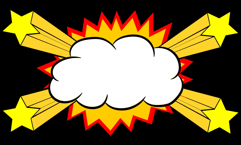 3001x1807 Comic Explosion Bubble Png Transparent Svg Vector Shopatcloth