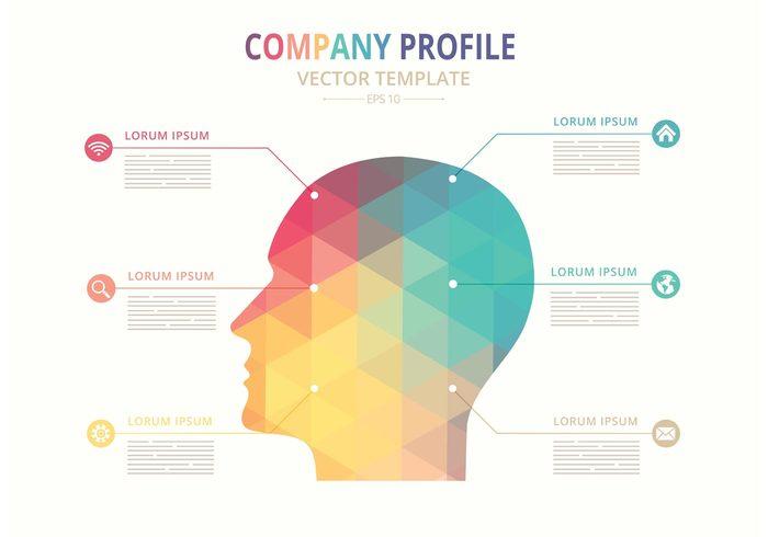 700x490 Free Vector Company Profile Template 103848