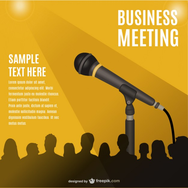 626x626 Conference Meeting Vector Vector Free Download