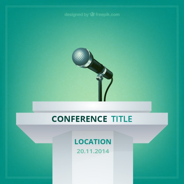 626x626 Conference Poster Vector Free Download