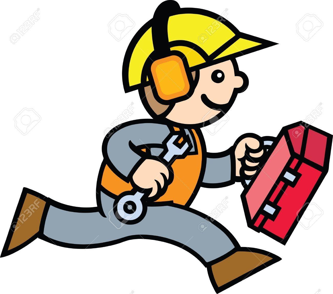 Vector Construction Worker