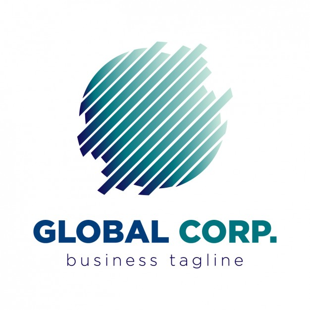 626x626 Global Corporation Logo Vector Free Download
