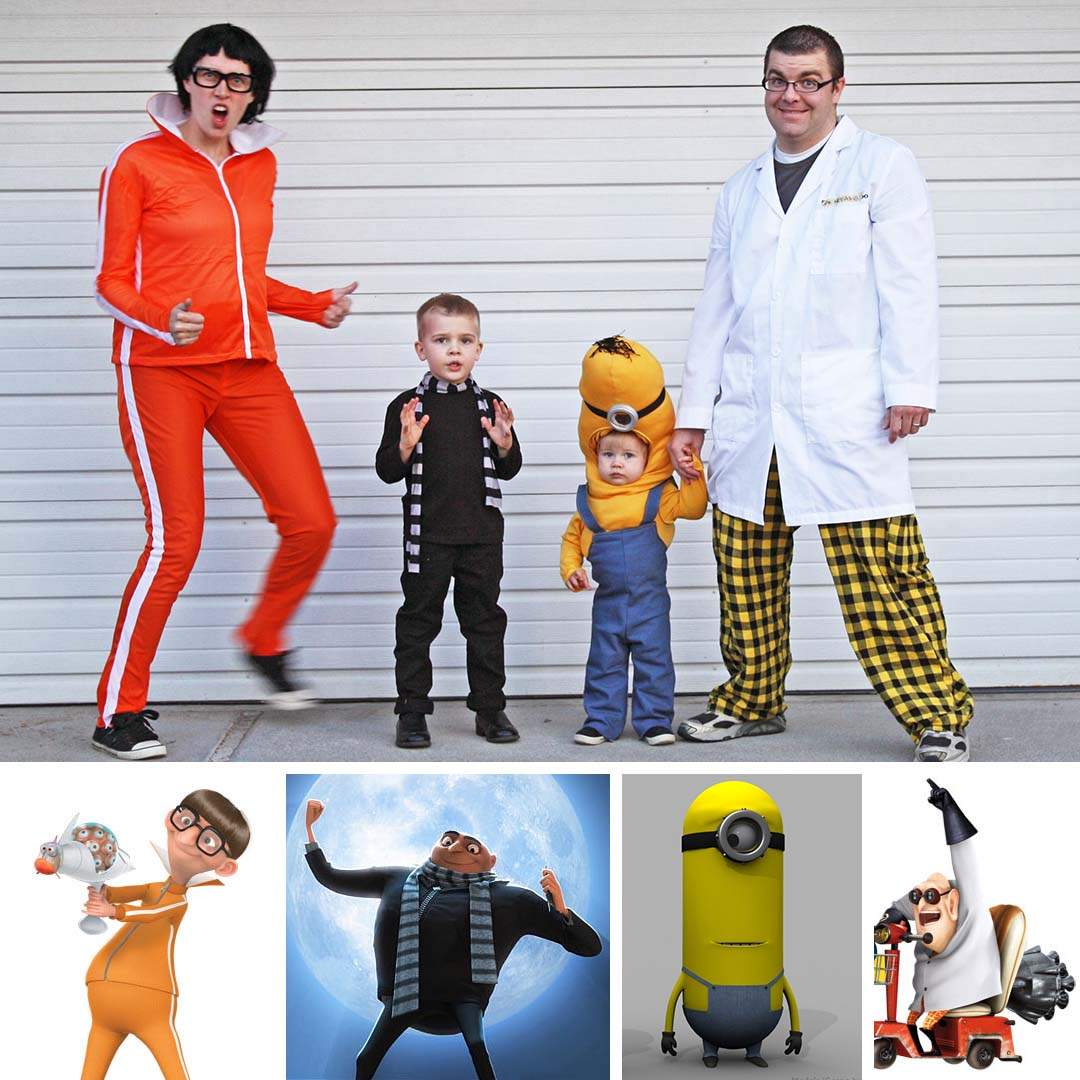 1080x1080 Running With Scissors Despicable Me And Maternity Halloween Costume